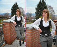 http://www.fashiondupes.com/2014/01/11-outfit-tomboy.html #tomboy #grey #black #ootd #ootn #outfit #style #fashion