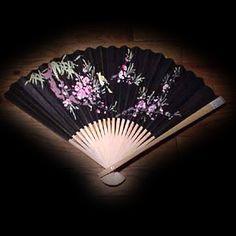 Wall Fan 28 inch Black  Price: $9.99 Large Fan, Wall Fans, Hand Painted, Black, Black People