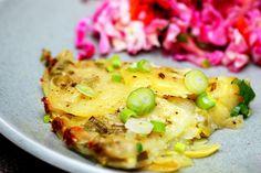 potato summer squash torte