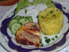 Bábovka z kuracieho mäsa (fotorecept) - recept | Varecha.sk Mashed Potatoes, Ale, Pork, Meat, Ethnic Recipes, Whipped Potatoes, Kale Stir Fry, Smash Potatoes, Ale Beer