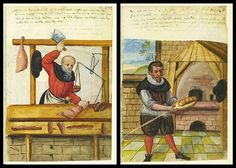 Butcher and Baker | Mendel, a wealthy trader established a charitable endowment in the city of Nuremberg: the Twelve Brothers House Foundation (Zwölfbrüderhausstiftungen). 12 elderly, unwell (but capable) man were given a place to live in exchange for their performing work duties. Although life and routine was said to have been inspired by the apostles, there was a fairly anti-clerical tone to the rules. Priests were formally excluded | house was a model for similar charity…