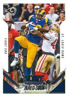 2015 Score #215 Jared Cook Front