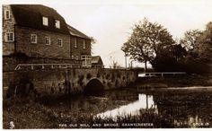 Grantchester Mill, Trumpington, Cambridgeshire, Real Photographic Postcard, RP | eBay