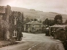 The old toll house in Ashopton, one of the photos in a set expected to sell for just at auction next week Local History, British History, Old Pictures, Old Photos, Vintage Photos, Peak District England, Derwent Valley, Lost Village, Toll House