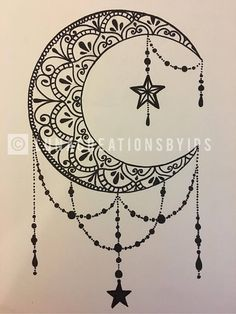 Original Luna handmade mandala black canvas on white 18 X . - Original Luna handmade mandala black canvas on white 18 X - Moon Tattoo Designs, Design Tattoo, Mandala Tattoo Design, Henna Tattoo Designs, Tattoo Ideas, White Mandala Tattoo, Henna Moon, Dotwork Tattoo Mandala, Henna Mandala