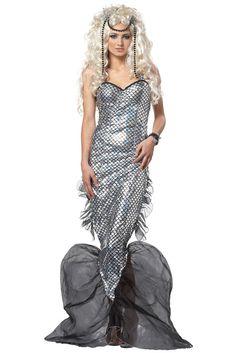 Brand New Sexy Mystic Mermaid Submariner Adult Costume | eBay