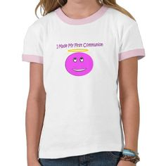I Made My First Communion Big Pink Smiley Shirts  http://www.zazzle.com/i_made_my_first_communion_big_pink_smiley_shirts-235587817611362116?view=113446115197525329=238282136580680600*