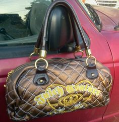 Juicy Couture Beautiful Handbag Purse Tote never carried