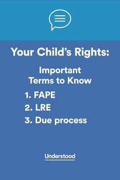 Important Special Education Rights That >> 27 Best Special Education Law Images Learning Resources Special