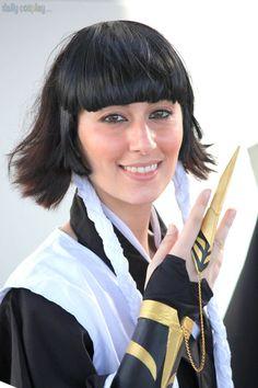Tamara Cosplay as Soi Fon from Bleach Bleach Cosplay