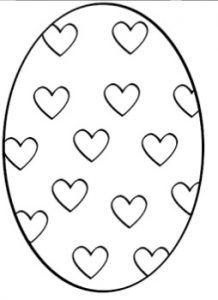 Huevos De Pascua Para Colorear E Imprimir Huevos