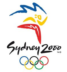 Official logo for the 2000 Sydney Olympic games