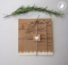 idea for wedding invitation diy