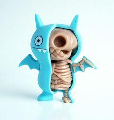 Icebat Uglydoll Anatomy Sculpt by ~freeny on deviantART