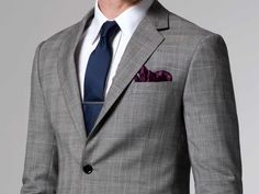 The Essential Prince of Wales Suit - a pattern to the essential grey