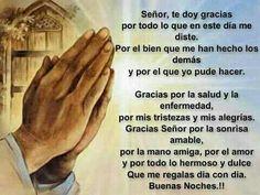 Señor te doy gracias !!!
