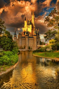 Beautiful Cinderella Castle