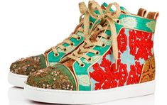 085e3ba8a12 Christian Louboutin collaboration with Indian couture designer Sabyasachi  Mukherjee