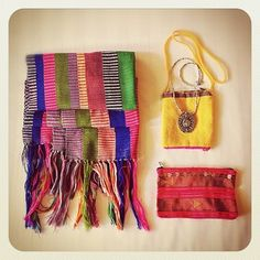 colourful little bags