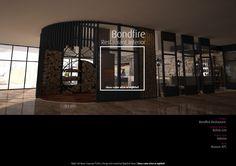 Bonfire Restaurant, Mansions, House Styles, Eat, Interior, Design, Home Decor, Decoration Home, Manor Houses