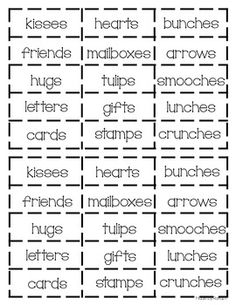 valentine's day phonics worksheets