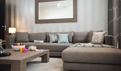 Rent Luxury Serviced Apartments In Kensington UK Kensington Uk, Luxury Services, Sofa, Couch, Serviced Apartments, Reception Rooms, London Travel, Gate, Bedroom