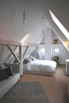 Attic_bedroom Attic_bedroomClimbing wall over the bed! What a cool idea for a child& Amazing and Beautiful Loft Bedroom Design Ideas for Best Inspirati.