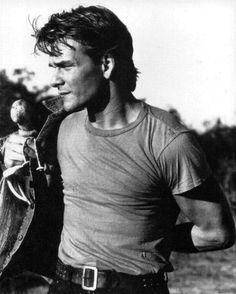 Patrick Swayze my first boyfriend lol I was going to marry him when I was like 4 years old! Lol!