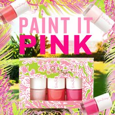 Lilly Pulitzer EXCLUSIVE Nail Polish- only available until Feb 16. Click for details.