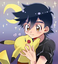 Ash Ketchum and Pikachu