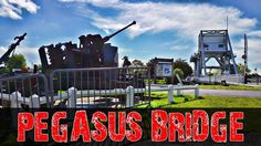 Pegasus Bridge and Horsa gliders landing site, Normandy, France. In the early morning hours of D-Day June a small detachment of British airborne tro. D Day Memorial, Pegasus, World War Ii, Bridge, Europe, France, Memories, World War Two