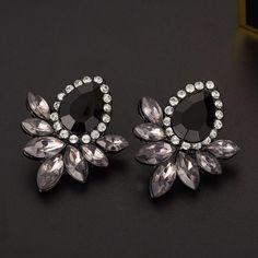 Rhinestone Stud Earrings 4077bc9760d6