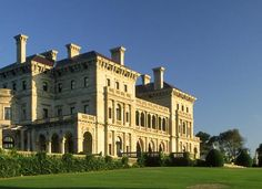 8 Beautiful Homes of the Gilded Age: Designed by Richard Morris Hunt, Breakers Mansion is a Renaissance Revival home in Newport, Rhode Island