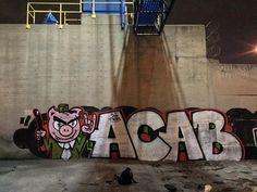 ACAB #graffiti #ACAB