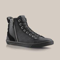 Zip Up sneaker boot in Damier Aventure via Louis Vuitton