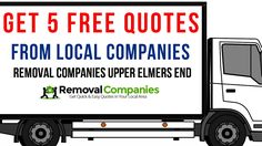 Removal Companies Upper Elmers End - BR3  - Get Your Free Quote Today