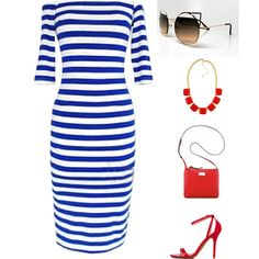 """Nauti """"Cool"""" for the 4th  http://chicrenegade.com/fashion-blog/what-to-wear-this-fourth-of-july/"""