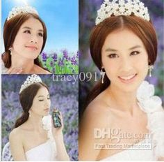 Wholesale Hair Accessory - Buy - 2013 In Stock Royal Crowns Shiny Jewelry Real Sample Bridal Wedding Tiara Tiaras Hair Accessories, $11.5 | DHgate