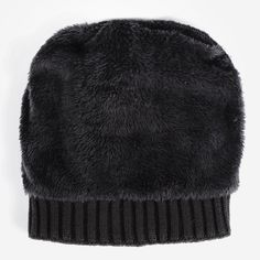 af8c21d4444 Vmevo Womens Warm Faux Fur Pom Pom Beanie Hat Soft Cable Knit Winter Fleece  Lined Skull
