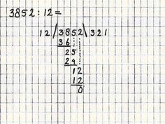 Delen 8 - Staartdeling met deler groter dan 10