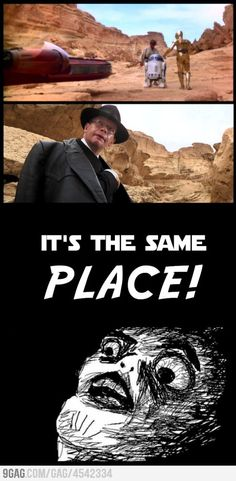 Nazis (and Indiana Jones!) on Tatooine? You better believe it. Indy's just that awesome!
