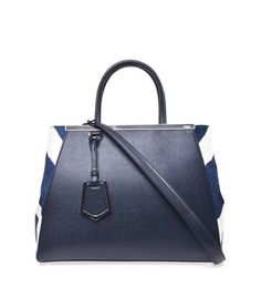 2Jours Pony Hair and Leather Tote by Fendi -  2294 Pony Hair d2e8410943b04