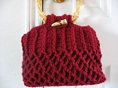 "Ravelry: Honeycomb ""Knit"" Purse (Crochet) pattern by Marilyn Coleman"