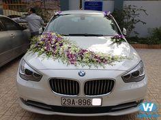 Dịch vụ cho thuê xe cưới 4 chỗ BMW giá rẻ tại Hà Nội