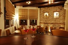 Our large warm and ample bar - sitting room is an ideal meeting place for every moment of the day. In the winter relax around the imposing fireplace with a glass of wine looking at the sea.