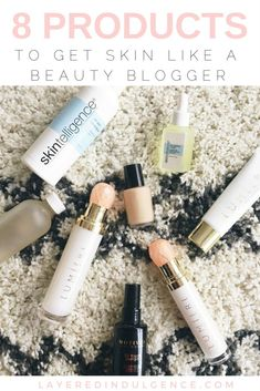 Want an inside look to my skincare routine? Having struggled with acne from a young age, I'm always on the look for amazing skincare products that will benefit my skin. If you want skin like a beauty blogger, take a look at 8 products that will give you h