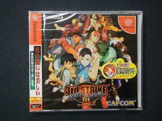Street Fighter 3 3rd Strike Dreamcast JPN  #retrogaming #HotDC  still new sealed. With Famitsu sticker. Auction from Japan.