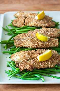 Kid Friendly Almond Crusted Tilapia Recipe by Cook Smarts