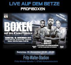 PROFIBOXEN live auf dem Betze   http://www.sportreporter24.de/?p=5647