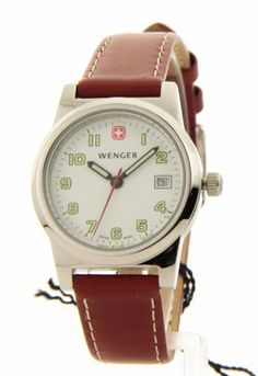 Womens Wenger Bienne Swiss Military Leather Date Casual Watch 70380 Wenger, http://www.amazon.com/dp/B006LWCRDE/ref=cm_sw_r_pi_dp_NGMXqb060SK8S